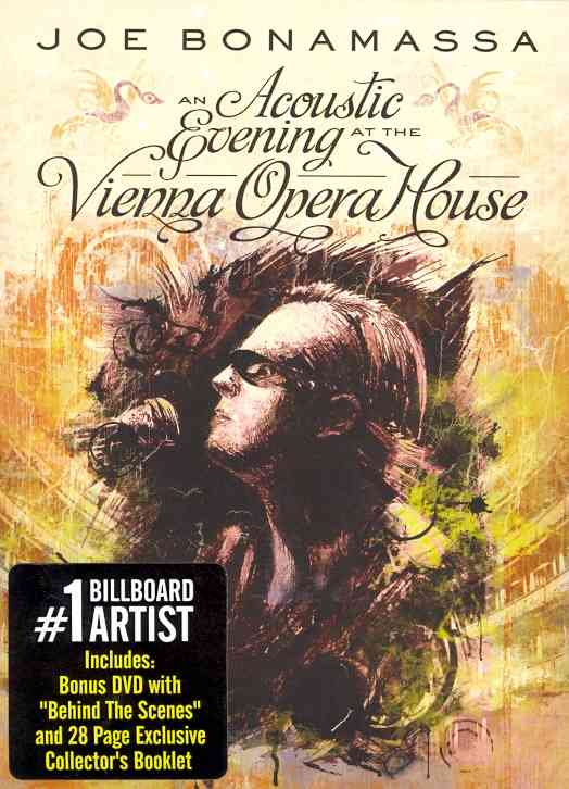 ACOUSTIC EVENING AT THE VIENNA OPERA BY BONAMASSA,JOE (DVD)